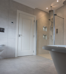 Full bathroom fitout including all electrics, plumbing and sanitary ware